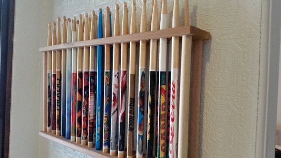 drum stick display drumstick holder hold 18 pairs by gnfstore. Black Bedroom Furniture Sets. Home Design Ideas