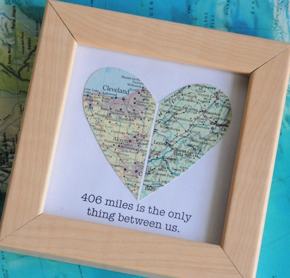 Long Distance Friendship Photo Frame