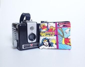 Wonder Woman - 3x4 pouch