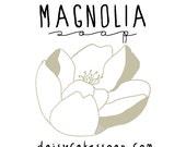 Magnolia, a Handmade Vegan Soap with Shea Butter