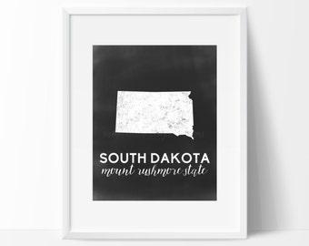 South Dakota Printable
