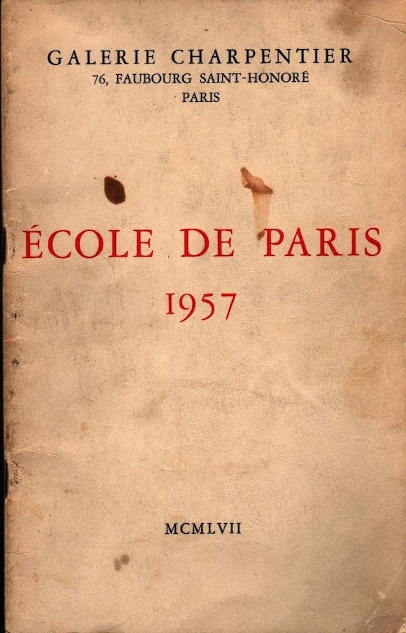 Ecole de Paris 1957 - Raymond Nacenta - 1957 - Vintage Book