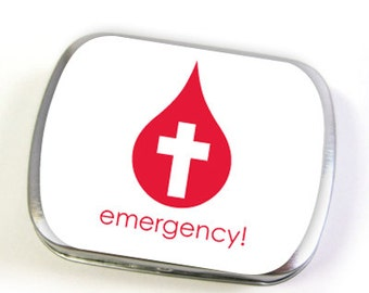 Emergency Hinged Tin (small or large)