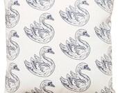 NEW 16x16 swan pillow