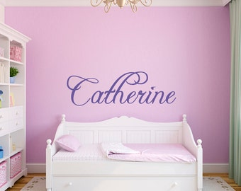 Personalized Name Wall Decal  - Baby Name - Nursery Name - Style 001