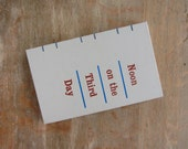 Journal - 1962 Vintage Noon On The Third Day - Ready to Ship