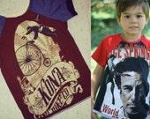 SALE Raglan Sleeve Tee Size 5 Kona Bike Company SICK Boys Girls Unisex