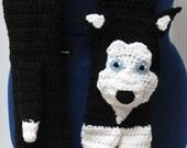 Husky Scarf Crochet Pattern