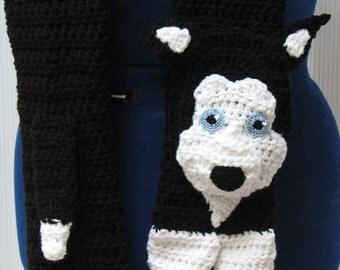 Husky Scarf Crochet Pattern In USA Terms, PDF, Digital Download