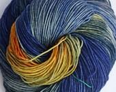 Dragonfly Fibers // Djinni Sock Yarn // Starry Night