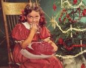 """Seasonal Box-less Set of Christmas Cards! """"Christmas Snacks!"""" Card"""