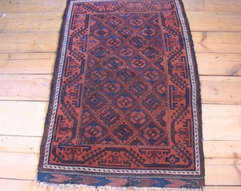 Antique tribal rug Beluch