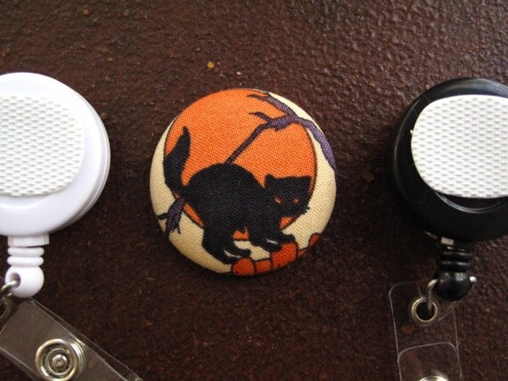 how to make fabric covered button badges