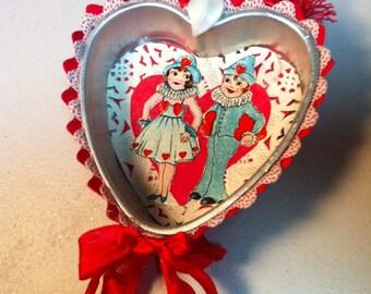4 inch heart jello mold Valentine ornament