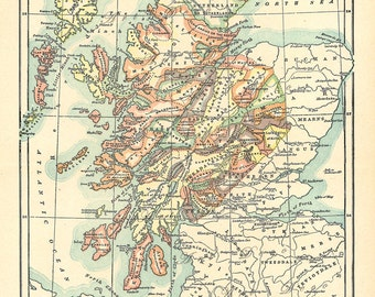 The Clans of Scotland in the 16th century, vintage printable digital download no. 10