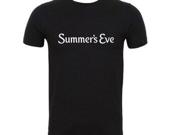 Summer's Eve Black T shirt