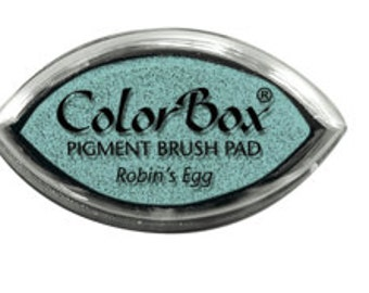 ColorBox Cat's Eye PIGMENT Ink Pad - ROBIN'S EGG blue