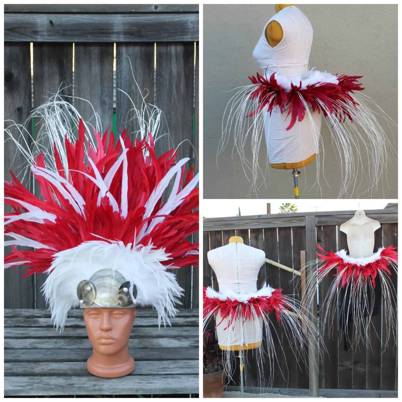 costume de danse tahitienne casque et ceinture par islandcostumes. Black Bedroom Furniture Sets. Home Design Ideas
