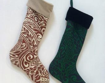 Aloha Christmas Stockings