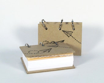 Card-File Address Book Double Stuffed - Paper Planes