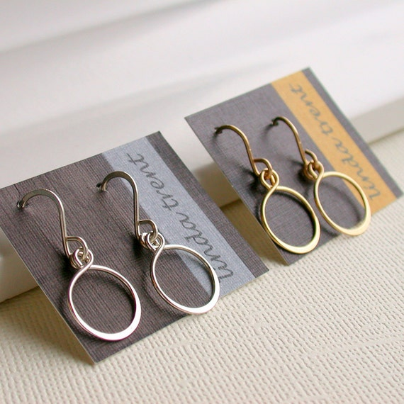 Petite Hoop Earrings