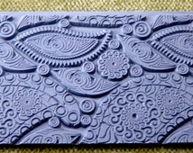 PAISLEY PARTY  Retro Texture Tile Stamp  TTL-283