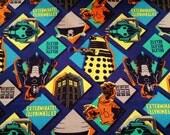Doctor Who -  Villains  - Daleks - Cybermen -  Women's Plus Size Skirt - Custom Made To Fit You