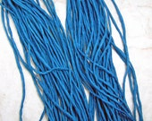 New Peacock Hand Dyed 100% Silk Cords Strings for Kumihimo Braids, Necklaces,  Bracelets