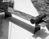 Steel Tribal Bench