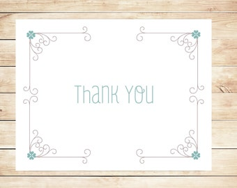 Whimsy Thank You Cards - Whimsical Stationery - Whimsy Stationary