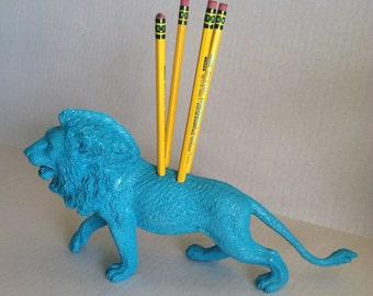 Sea Side Lion Extra Large Pencil Holder
