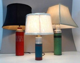 Vintage Mid Century Coffee Thermos Lamp