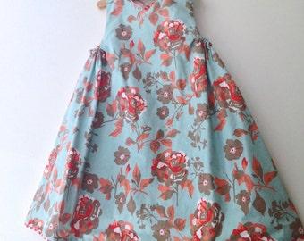 Persimmon Sky reversible jumper dress, sizes 12m, 2T 3T 4T