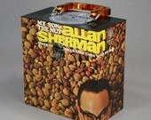 """Vinyl Record Case 7-inch 45's - """"The Nut Case"""" - Handmade from Recycled Records"""