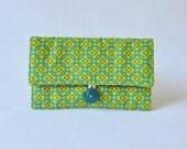 Jewelry Roll - Tiled Primrose