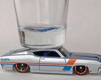 The ORIGINAL Hot Shot, Shot Glass, '69 Ford Torino Talladega, Classic Hot Rods, Hot Wheels