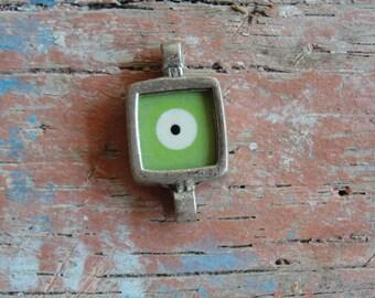 Green Evil Eye Connector