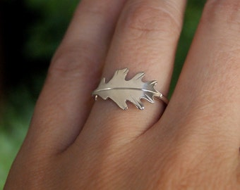 Oak Leaf, a woodland ring