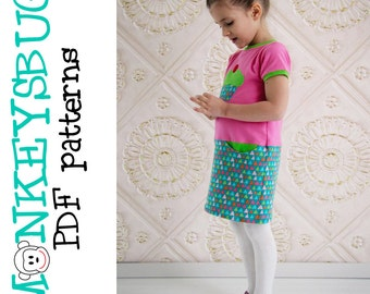 Jump Start Knit Dress PDF eBook Pattern INSTANT DOWNLOAD