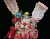 Hope OOAK Art Doll Sweet Bottle Bunnie