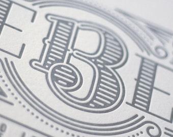 We Believe : The 13 Articles of Faith Letterpress Print