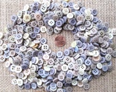 50 Shades of Grey - Vintage Buttons