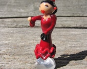 RESERVED LISTING Flamenco Girl