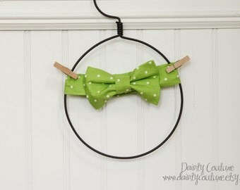 Green bow tie - Cake smash - Birthday outfit