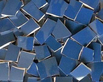 Mosaic Tiles--Deep Blue Sea-- 100 Count