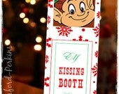 Elf Kisses Kissing Booth For Christmas Elf