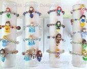 CHOOSE YOUR Princess swarovski crystal bracelet