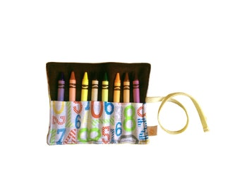 CLEARANCE Eco Crayon Roll | Surprised Numbers