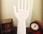 Industrial Porcelain Glove Mold Unglazed