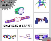 CRAFT KITS for KIDS - 6 Craft Kits for Little Kids - All Supplies Included! - Crafts You Can Wear!